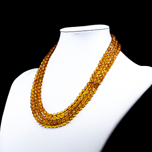 Amber Necklace #MUN033