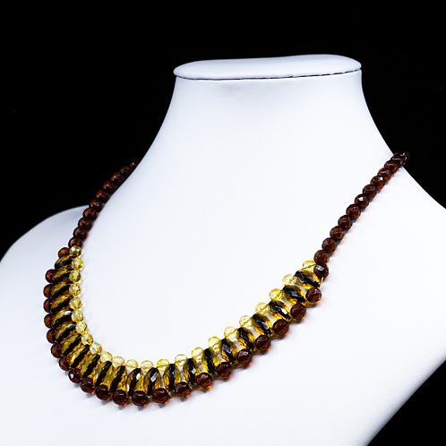 Amber Necklace #MUN015
