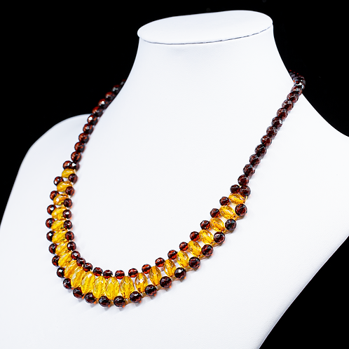 Amber Necklace #MUN014