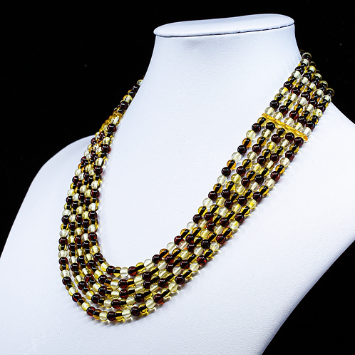 Amber Necklace #MUN011