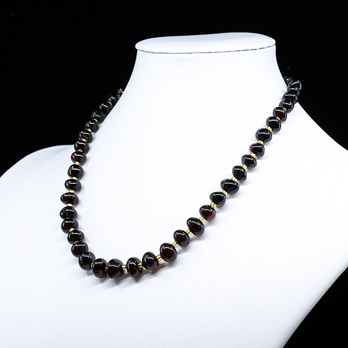 Amber Necklace #BAR007