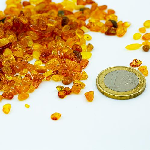 Raw Amber, Polished No. 3 ( 4 - 5 mm)