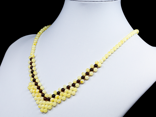 Amber Necklace #MUN038