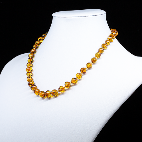 Amber Necklace #BAR008