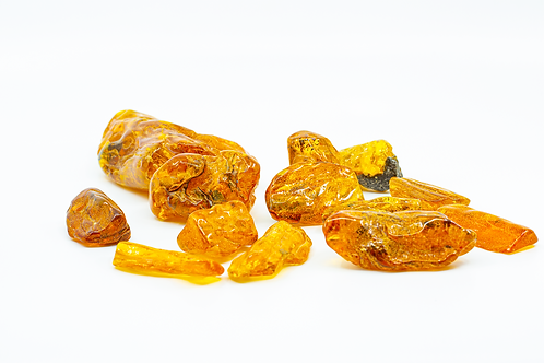 Natural Polished Amber Pieces