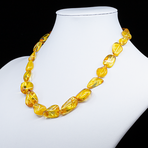Amber Necklace #LEA002