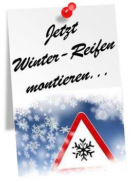 Website Notizen Jetzt Winter-Reifen mont