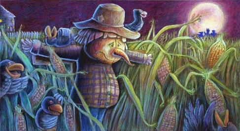 Solemn Scarecrow