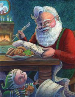 Santa's Smallest Helper: Cookie Baker?