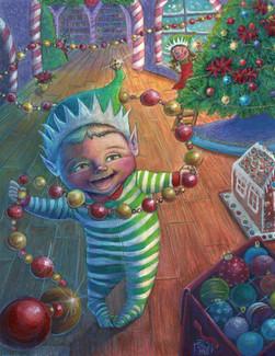 Santa's Smallest Helper: Tree Decorator??