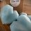 Thumbnail: White Linen Large Heart Wax Melts