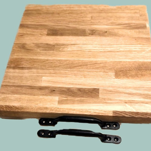 Reclaimed Laminated Oak Chopping Boards