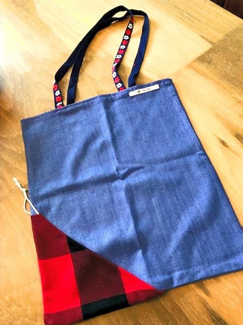 Sustainable Shopping Bag (Blue)