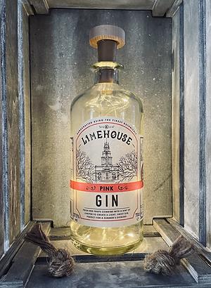 Limehouse Gin Bottle Light