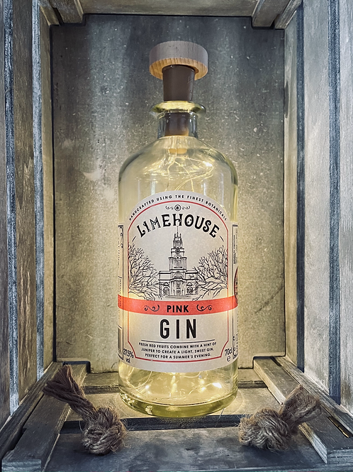 Limehouse Gin Bottle Light