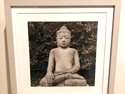 Large Dorset Buddha 'Zen' Picture and Frame