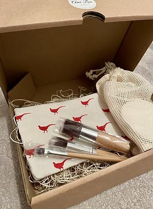 Eco mini make-up gift set