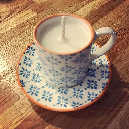 Mini Espresso Cup Candle