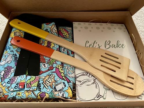Super Hero Comic Book 'Let's Bake' Gift Set (M)