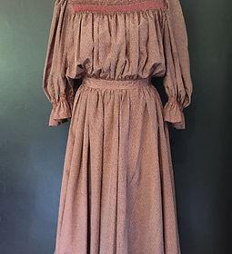 Silk Vintage Maxi Dress