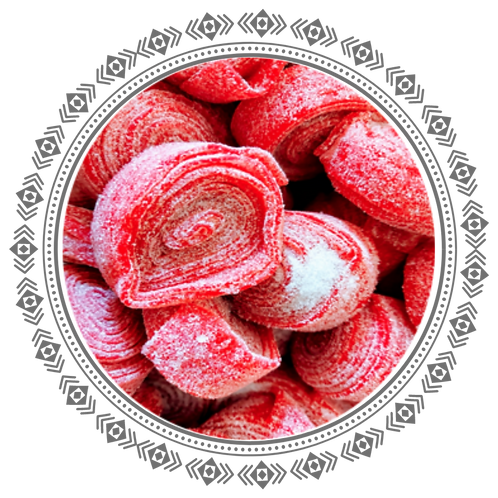 Red Liquorice Rolls