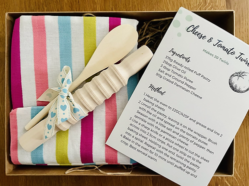Let's Bake 'Mismatch Stripes' Baking Gift Set (S)