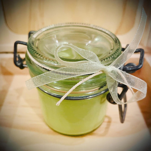 Small 'Kilner Style' Citrus Basil Candle