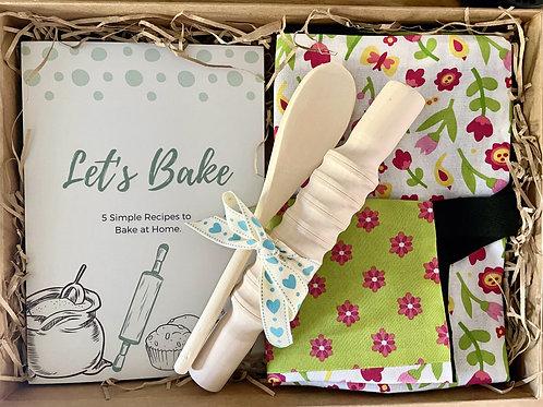 'Lets Bake' Flower Children's Baking Set (S)