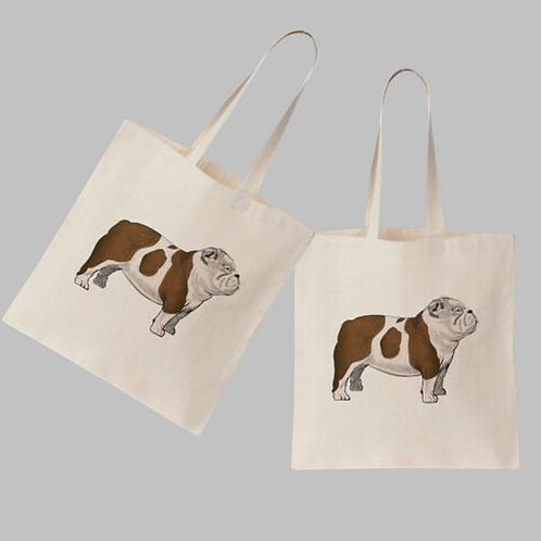 'Bulldog' Tote Bag