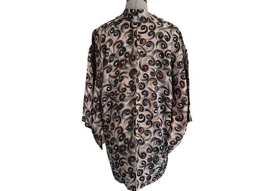 YUI Vintage Haori Jacket, Silk Kimono