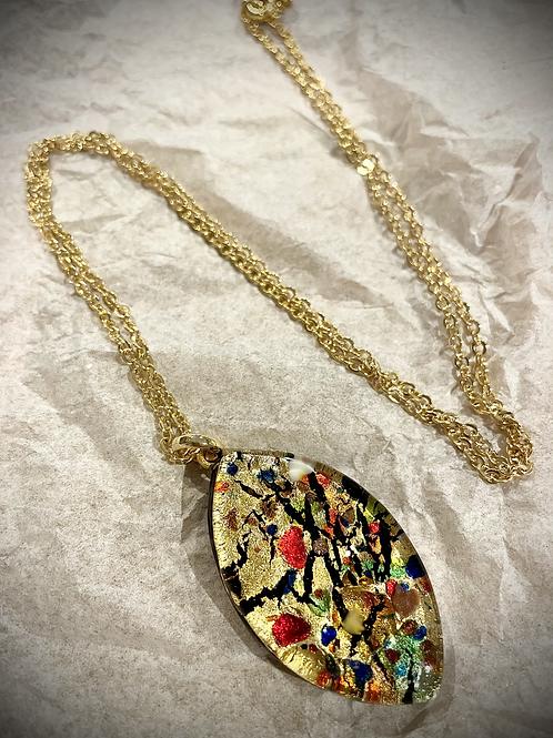 Murano Pendant and Chain