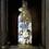 Thumbnail: Retro Blue Flower Bottle Light