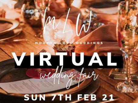 Modern Love Virtual Wedding Fair.
