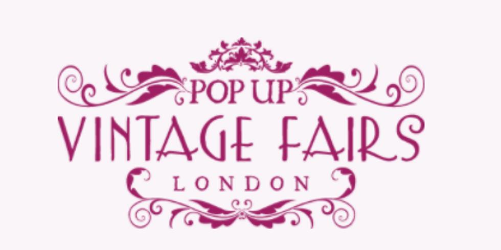 Pop up Vintage Fair. Alexandra Palace