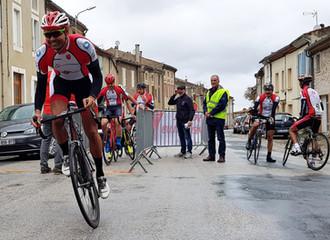 Un podium international au CLM du col de Dourgne