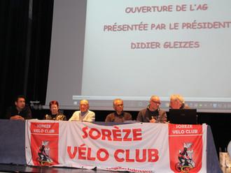 DE NOMBREUX RECOMPENSES A L'AG DU SOREZE VELO-CLUB