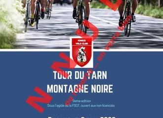 ANNULATION DU TOUR DU TARN MONTAGNE NOIRE 2020