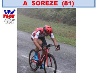 WEEK-END CYCLISTE A SOREZE