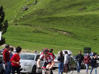 Belle course de Joffrey dans les Pyrénées !