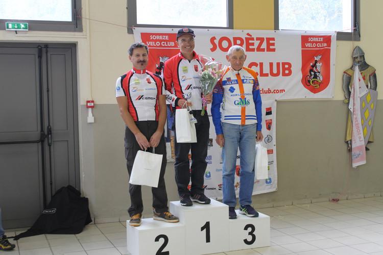 Le podium des 5ème catégorie