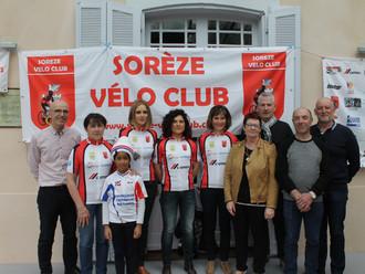 Le Sorèze Vélo Club fête ses 100ème et 101ème adhérent