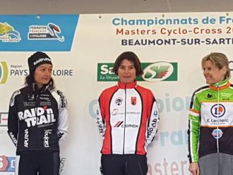 Maryline VASSAL - SALVETAT A NOUVEAU CHAMPIONNE DE FRANCE