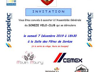 L'ASSEMBLÉE GÉNÉRALE 2019 DU SVC