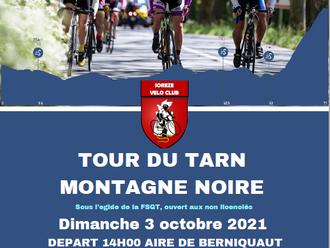 Le Tour du Tarn Montagne Noire 2021
