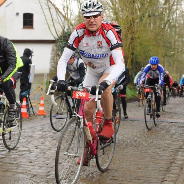 Philippe au Tour des Flandres