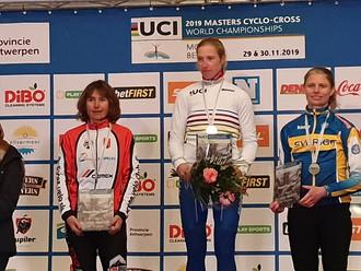 MARYLINE SALVETAT - VASSAL, 2ème AU CHAMPIONNAT DU MONDE et THIBAUT VASSAL CHAMPION DU MONDE DE CYCL
