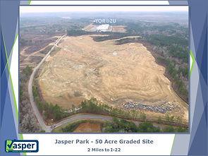 Jasper Park Graded Site