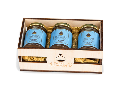 Box purista del marrone - crema classica