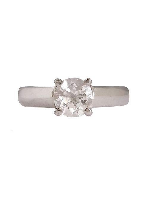 *CD DESIGNER* 0.75ct Natural Topaz Ring in Sterling Silver
