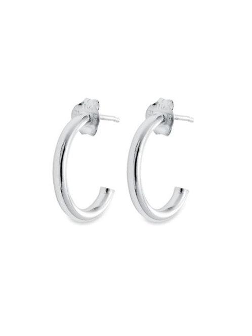 20mm Hoop Cuff Style Earring in 925 Sterling Silver